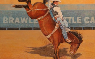 Rodeo Rockette by Rich Boyd Art