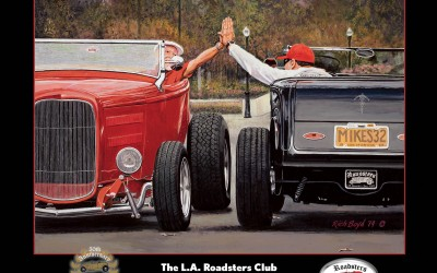 L.A. Roadsters Club 50th Anniversary Father's Day Show