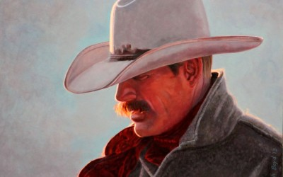Wyoming Wrangler by Rich Boyd Art