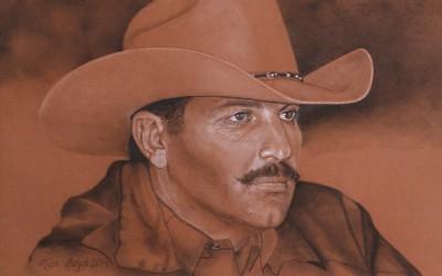Cowboy Brady (pencil) by Rich Boyd Art