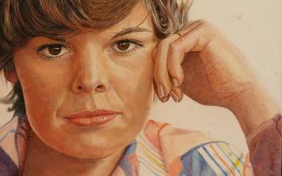 Pretty Ponderer pencil by Rich Boyd Art